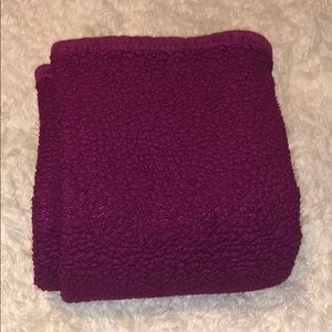 Other - Hot Pink Sherpa Throw